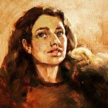 miłka portret